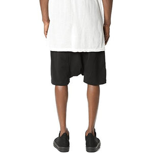 Rick Owens DRKSHDW Men's Pod Shorts, Black, X-Large