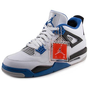 Air Jordan 4 Retro White/Game Royal Black - West Nineties