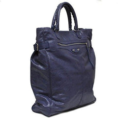 Balenciaga Arena Fettuccia Cerata Motorcycle Travel Duffle Bag - West Nineties