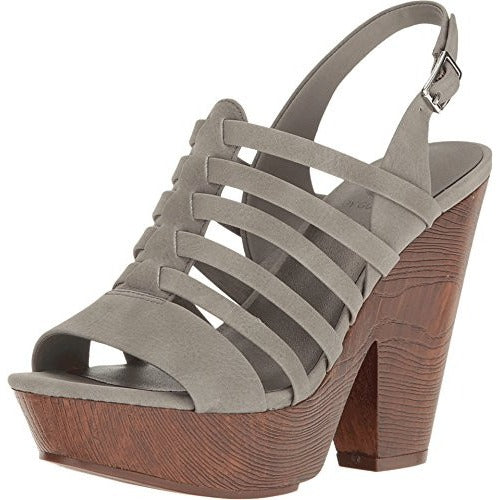 G by GUESS Women's Seany Grey Sandal - West Nineties
