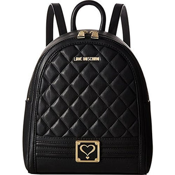 LOVE Moschino Women's Quilted Mini Backpack
