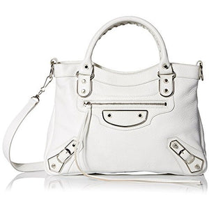 Balenciaga Women's Leather Satchel - West Nineties