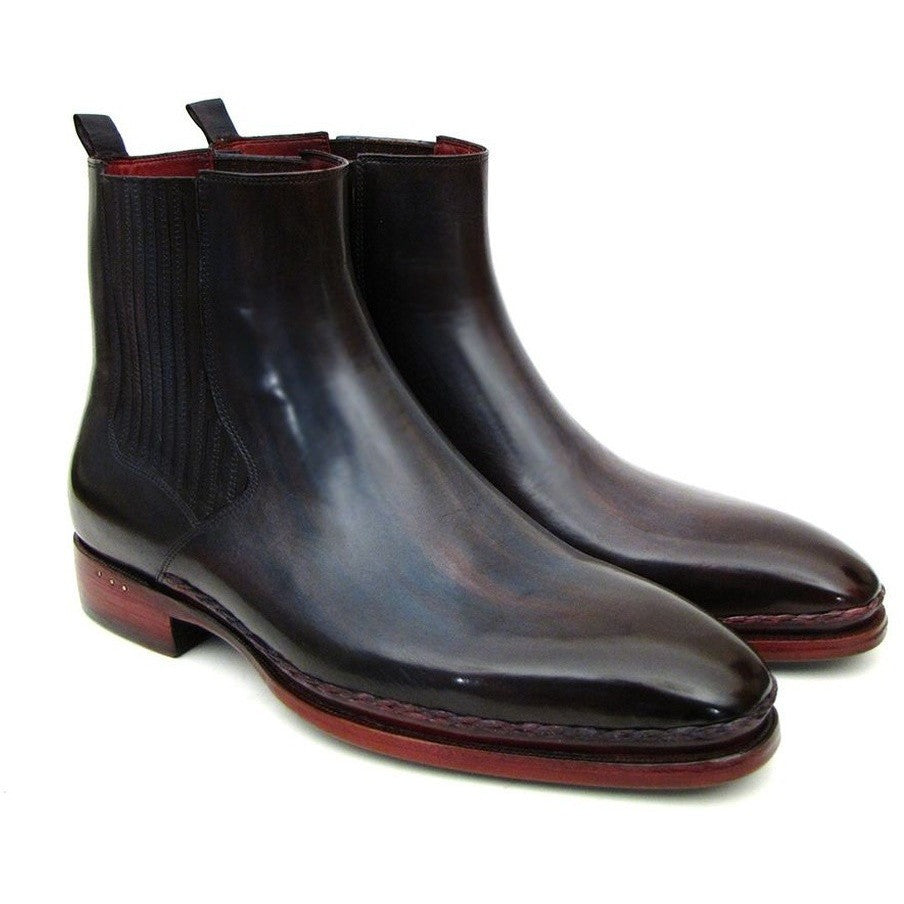 Chelsea Boots Navy & Bordeaux - West Nineties