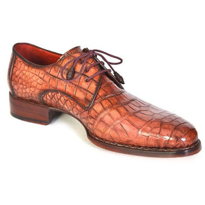 Genuine Crocodile Goodyear Welted Derby Shoes - West Nineties