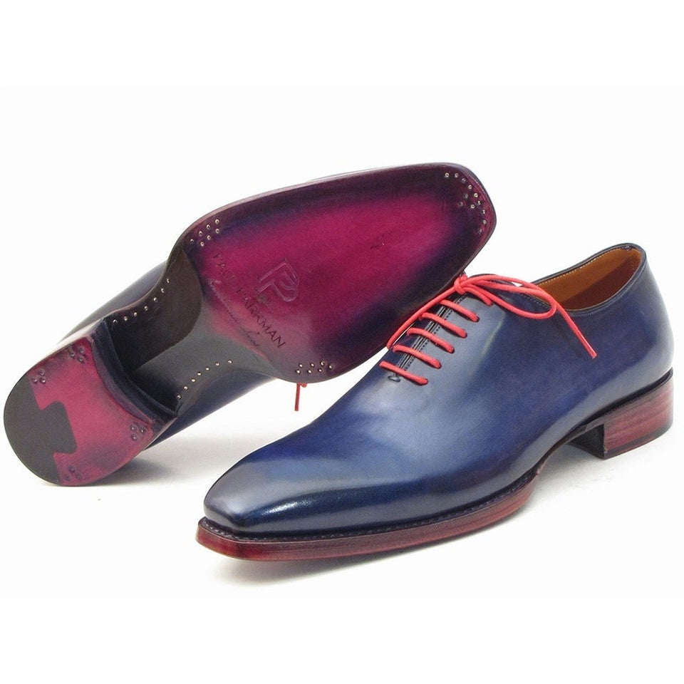 Goodyear Welted Wholecut Oxfords Navy Blue - West Nineties