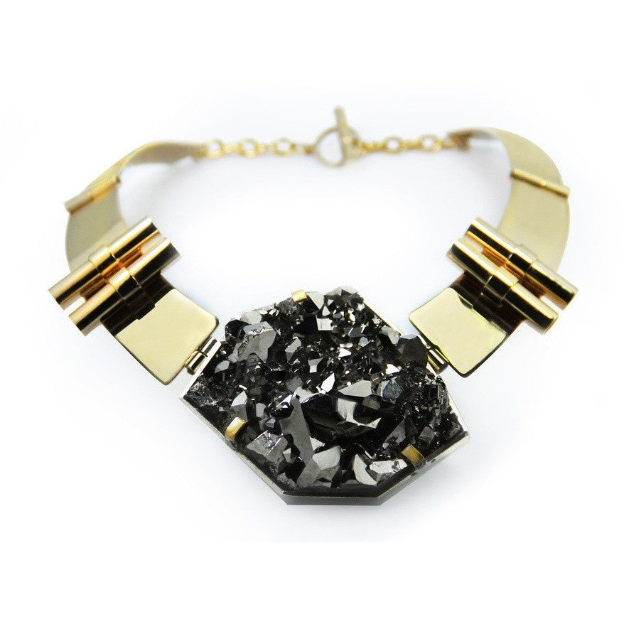 Crystal Ore Necklace - West Nineties