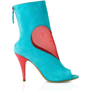 DEEVA Mesh Heart Ankle Boot - West Nineties