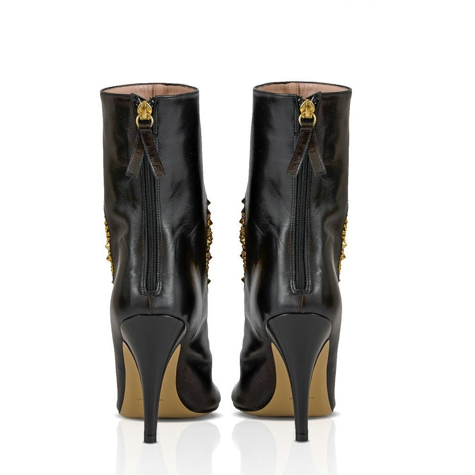 DINARA Studded Heart Ankle Boot - West Nineties