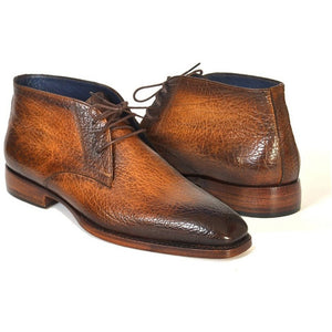 Chukka Boots Brown & Camel - West Nineties