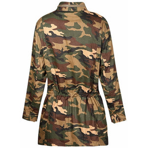 WEST NINETIES Women's Camo Jacket