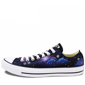 CONVERSE All Star Hand Painted NEBULA Sneakers