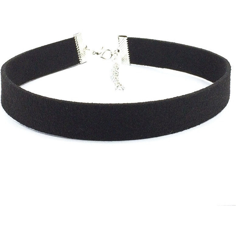 Black Velvet Ribbon Choker - West Nineties