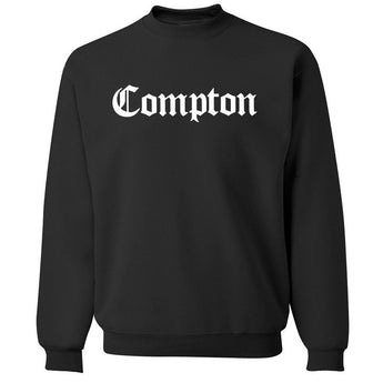 COMPTON Crewneck Sweater - West Nineties