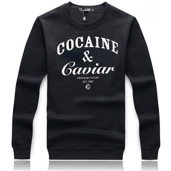 COCAINE & CAVIAR Crewneck Sweater - West Nineties