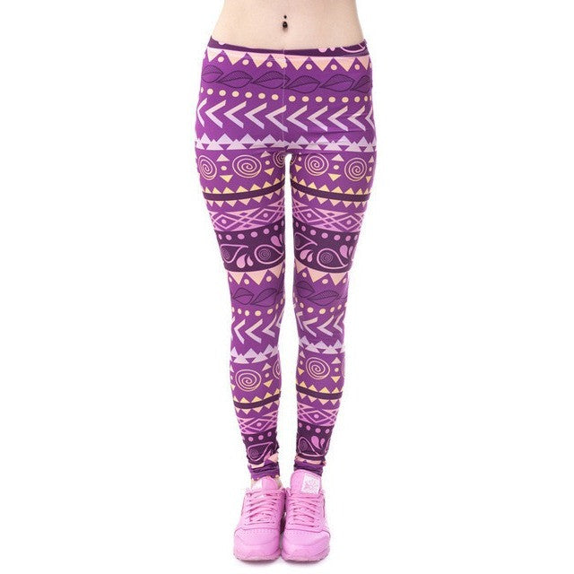 WEST NINETIES LUXE Aztec Leggings