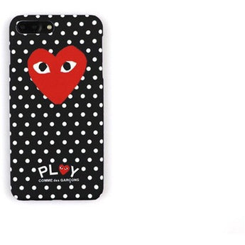 Comme des Garçons Glow In The Dark iPhone Case
