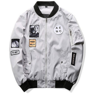 WEST NINETIES AENC Bomber Jacket
