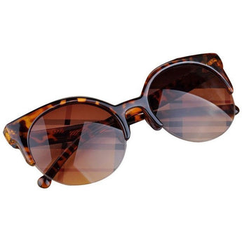 WEST NINETIES Vintage Semi-Rim Sunglasses