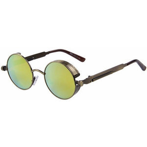 WEST NINETIES Retro Round Lens Sunglasses