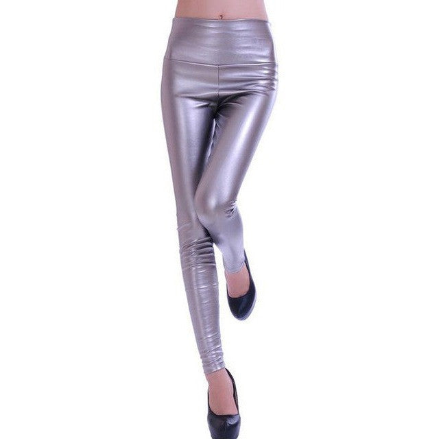 WEST NINETIES LUXE Leather Leggings