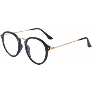 WEST NINETIES LUXE Clear Lens Oval Frame Glasses