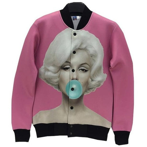WEST NINETIES X MARILYN MONROE Bomber Jacket