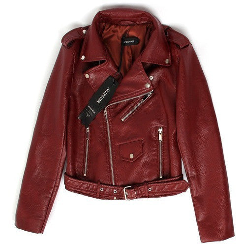 WEST NINETIES Women's Leather Jacket