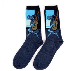 WEST NINETIES Guitar Man Socks