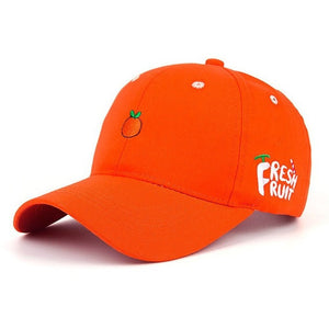 WEST NINETIES Orange Baseball Cap