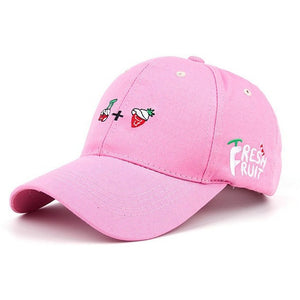 WEST NINETIES Strawberry Baseball Cap