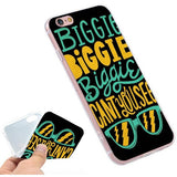 BIGGIE SMALLS iPhone Case - West Nineties