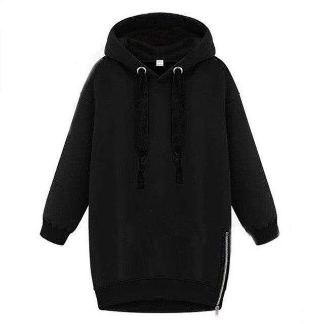WEST NINETIES Womens Overized Hoodie