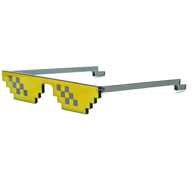 WEST NINETIES LUXE DEAL WITH IT 8BIT Glasses