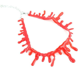 WEST NINETIES BLOOD Choker