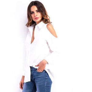 WEST NINETIES LUXE Off Shoulder Blouse