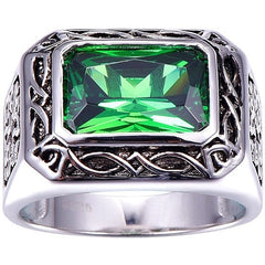 BONLAVIE Russian 6.8ct Nano Emerald Ring - West Nineties