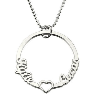 CUSTOMIZABLE 2 Name Choker - West Nineties