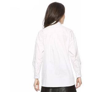 "WEST NINETIES LUXE Oversized ""Lifestyle"" Blouse"
