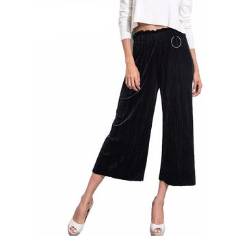 WEST NINETIES LUXE Pleated Trousers