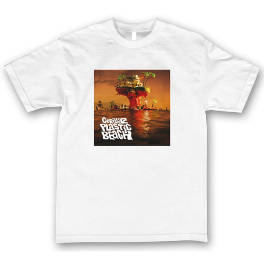 GORILLAZ Plastic Beach T-Shirt - West Nineties