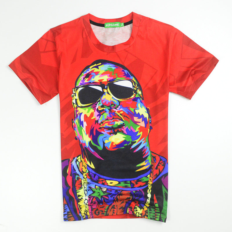 BIGGIE SMALLS Tie Dye T-Shirt