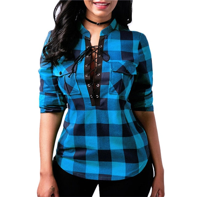 2019 Stylish & Casual Plaid Shirt