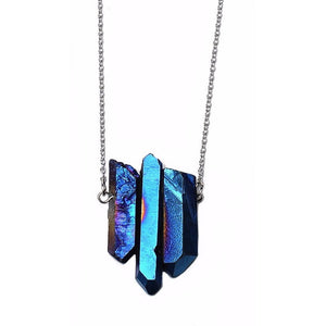 CRYSTAL NORTHERN LIGHTS Necklace - West Nineties