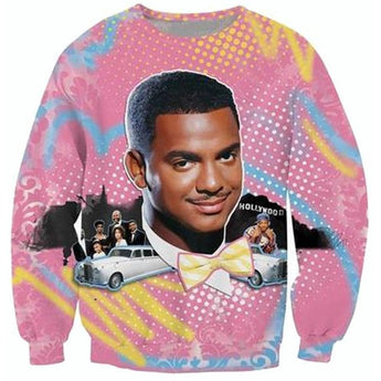 CARLTON BANKS Crewneck Sweater - West Nineties
