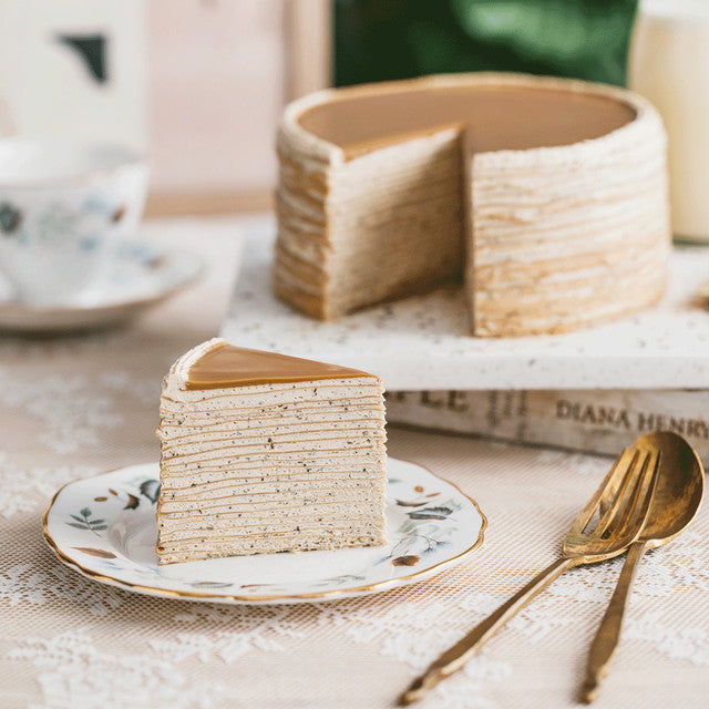 How to Make Lady M's Earl Grey Crepe Cake