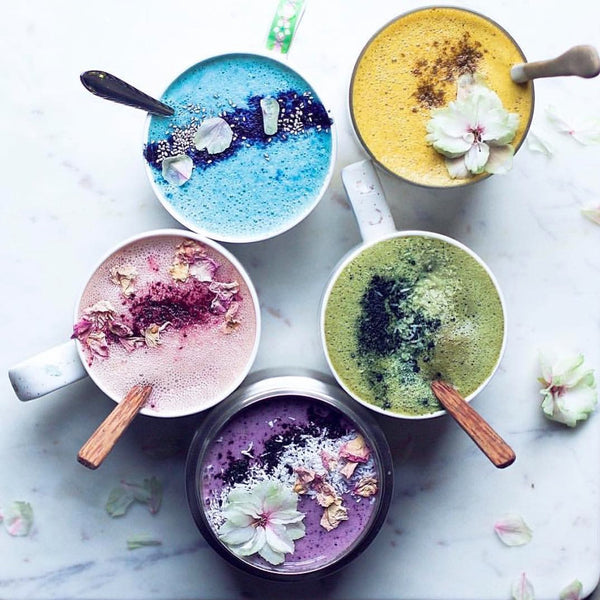 A Guide To The Colorful Moon Lattes