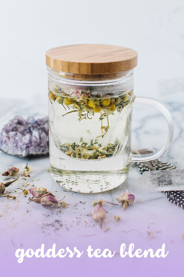 DIY Herbal Blend: Goddess Tea Blend