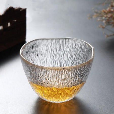 Handcrafted Glass Teacup
