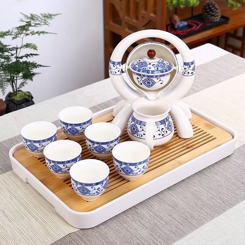 Fancy Traditional Chinese Tea Set without Tray