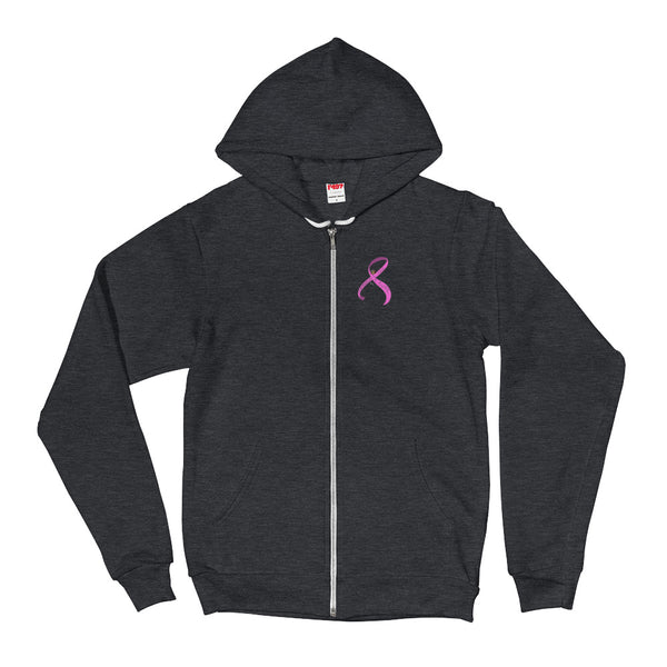 DMG FOR A CURE Breast Cancer Zip Hoodie sweater